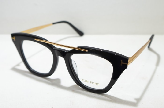 Tom Ford Eye glasses Frame - Black & gold image