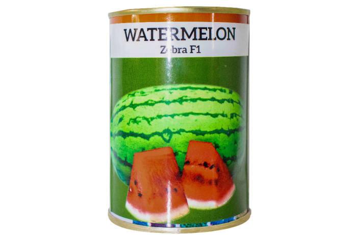 Zebra F1  Hybrid Watermelon Seeds  image