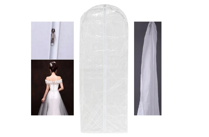 Wedding gown covers image