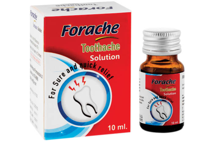 Forache  Toothache Solution  10ml  image
