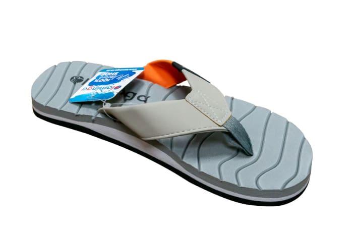 Wide Strap Flamingo Crocs Flip Flop image