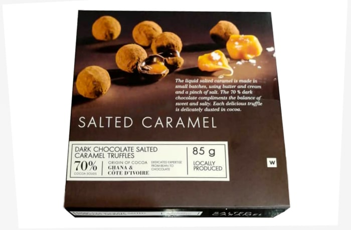 Woolworths Dark Chocolate Salted Caramel Truffles  image