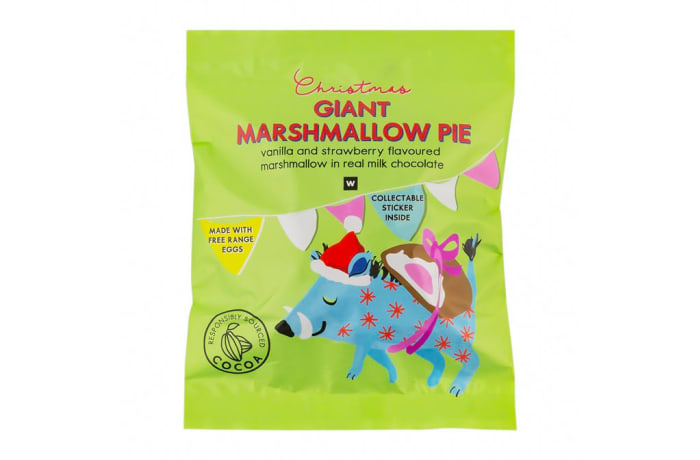 Sweets Vanilla & Strawberry Flavours Marshmallow Pie image