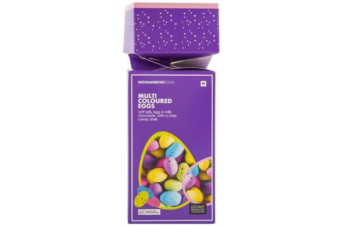 Chocolate Foil Wrapped   Multi-Coloured Eggs  image