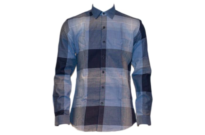Casual Shirt Blue Checked image