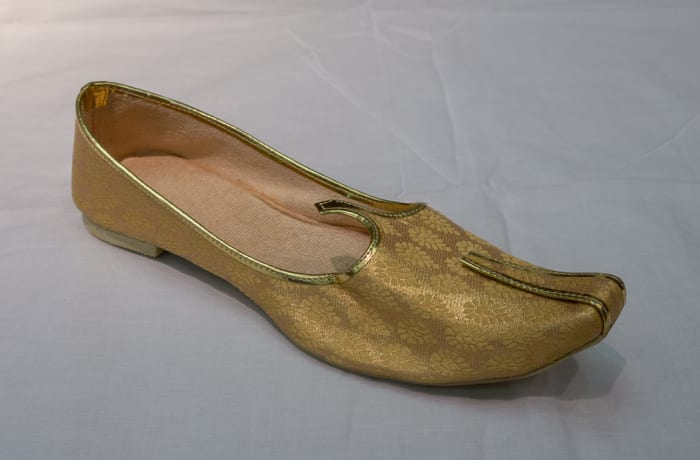 Mojari Shoes - Women's bright gold image