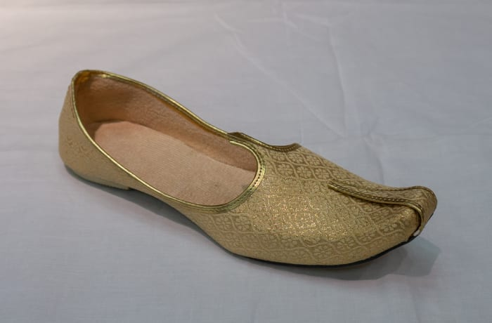 Mojari Shoes - Women's gold image