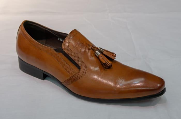 Smart Shoe Nobby Cavalli - Men's brown tasselled image