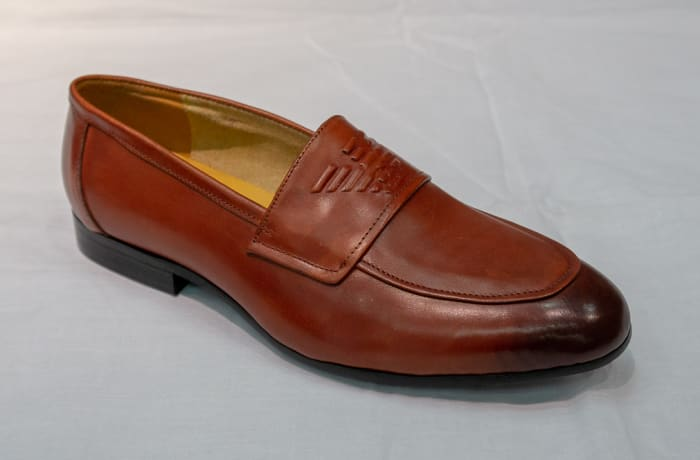 Smart Shoe Nobby Cavalli - Men's brown two tone image