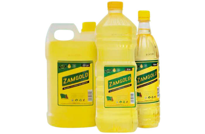 Zamgold Cooking Oil Low Cholesterol image