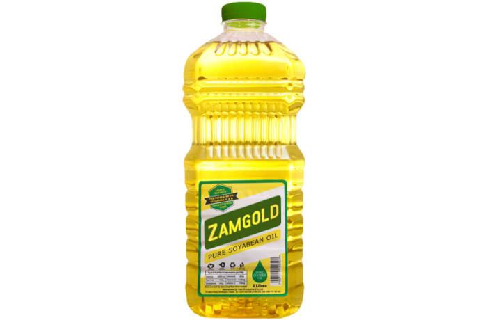 Zamgold Pure Soyabean Oil image