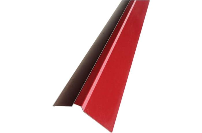 Steel  Square Top Roof Ridge Cap Red  image