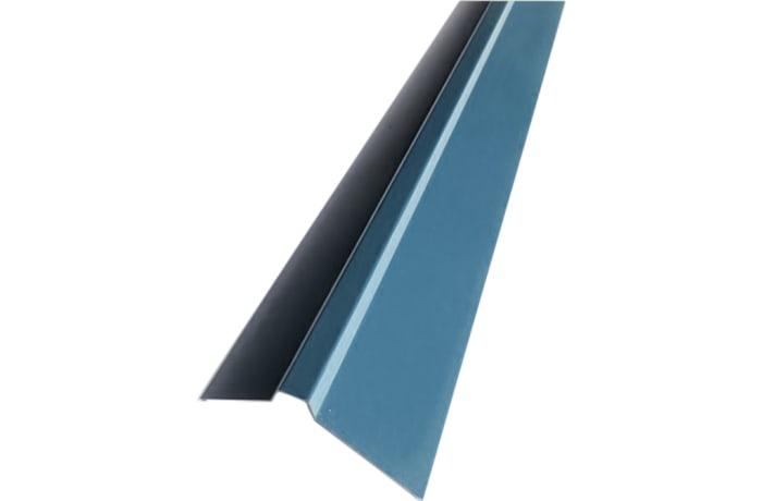 Steel  Square Top Roof Ridge Cap Blue  image
