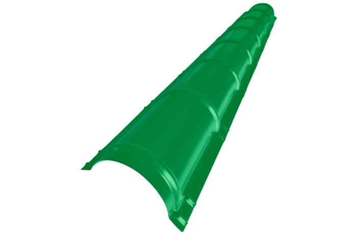 Steel  Circular Q-Ridge Cap Green  image