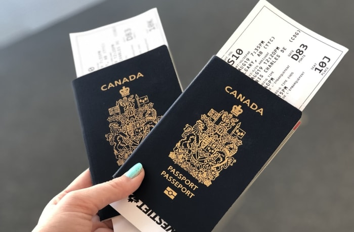 Travel documents and immigration image