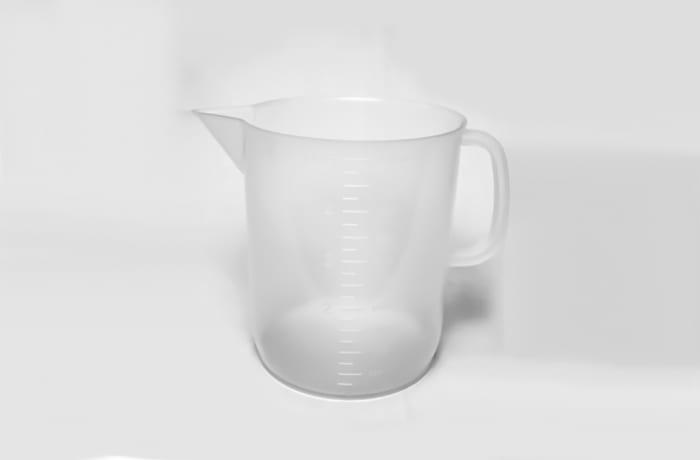 Graduated Plastic Jar 5 litres image