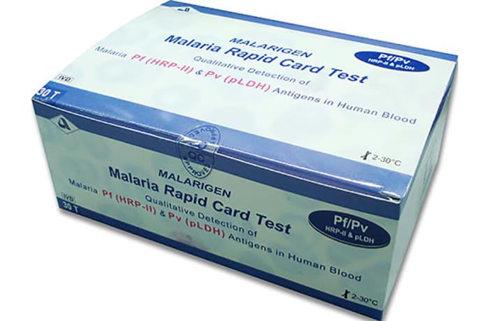 Malaria card image