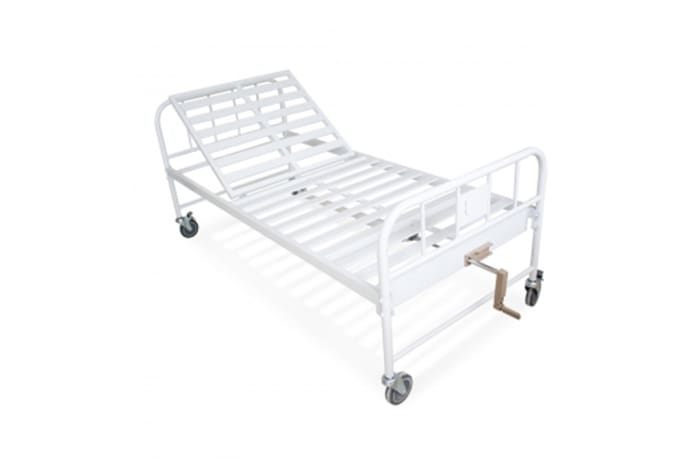 One crank manual hospital bed image