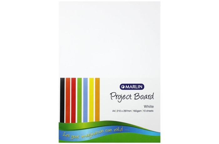 A4 Manilla Sheets Pastel 160gms 10pkt image