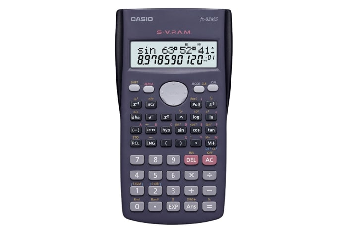 Casio FX-82MS Scientific Calculator Non-Programmable image