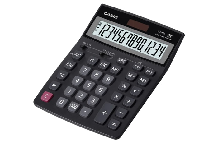 CASIO GX 14S Calculator image