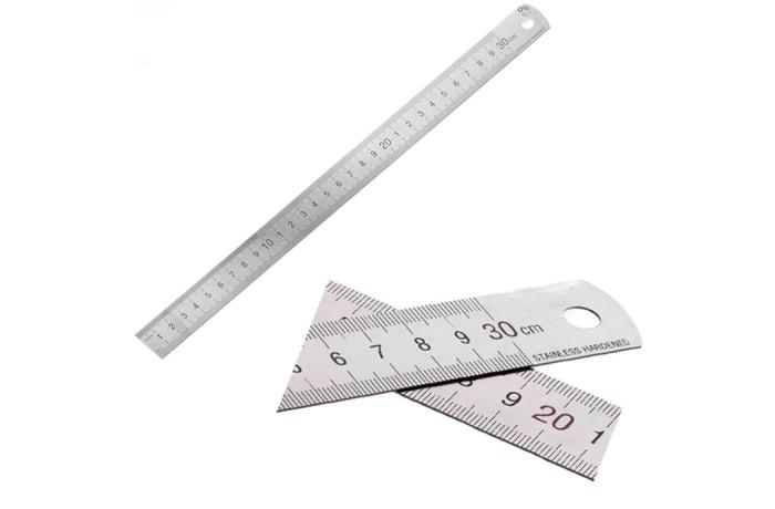 Desk Rulers Metal 30CM image