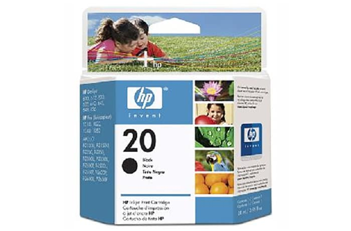 HP Invent 21A Ink Cartridge Black image