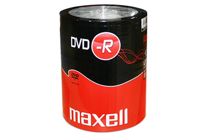 MAXELL DVD-R SPINDLE X100 image