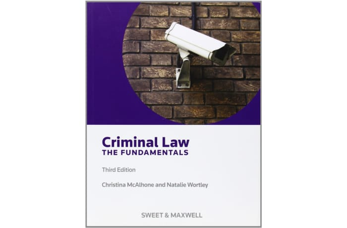 Criminal Law and The Fundamentals image