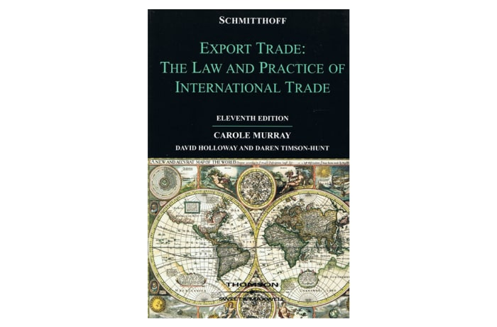 Export Trade: The Law and Practice of International Trade 11th image