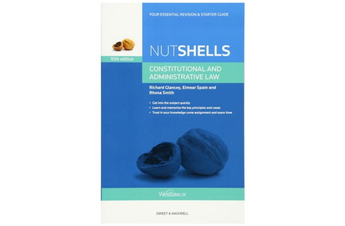 Nutshells Constitutional and Administrative Law 10th Edition image
