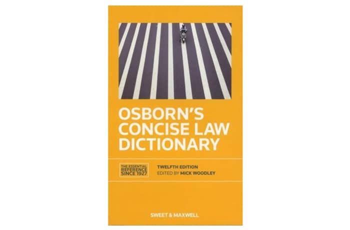 Osborn's Concise Law Dictionary image