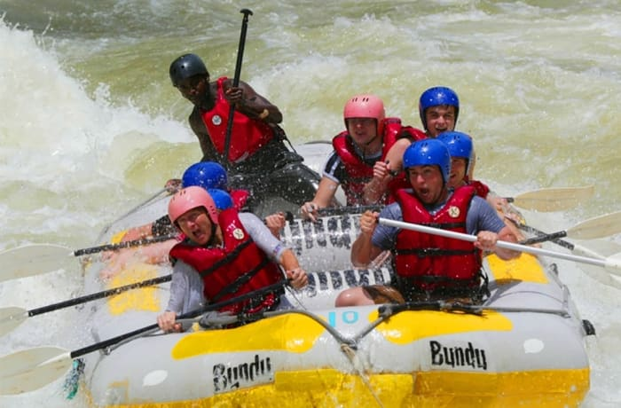 White Water Rafting on the Zambezi — Low Water Season image