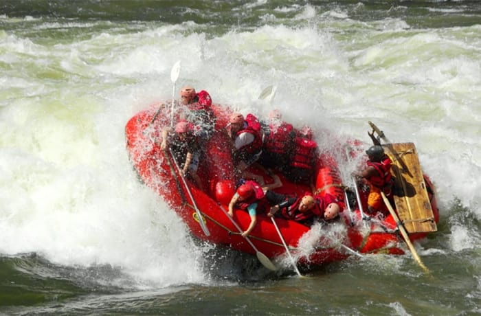 White Water Rafting on the Zambezi — High Water Season image