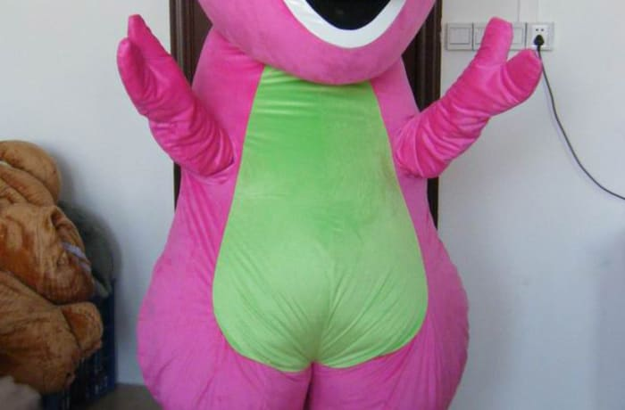 Barney mascot image