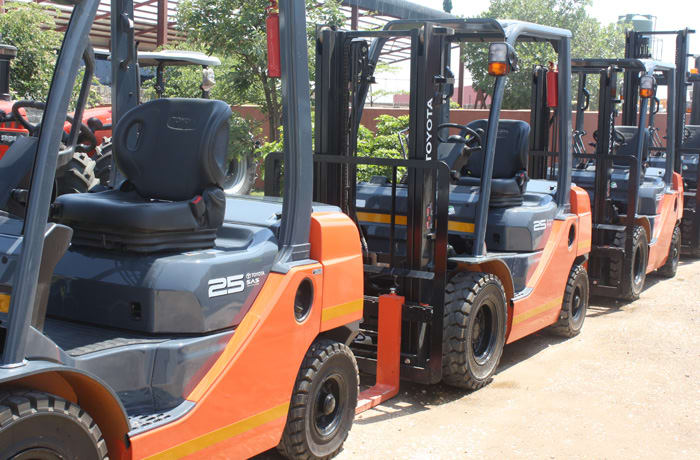 Warehouse vehicles - 0