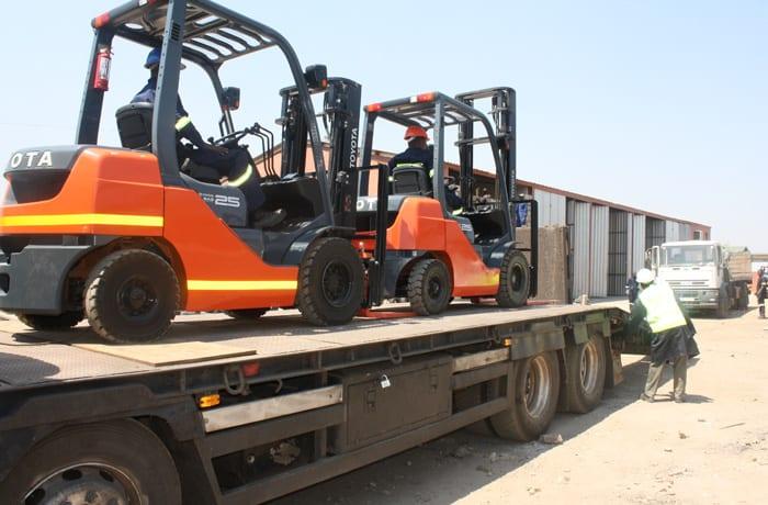Forklift truck maintenance - 2