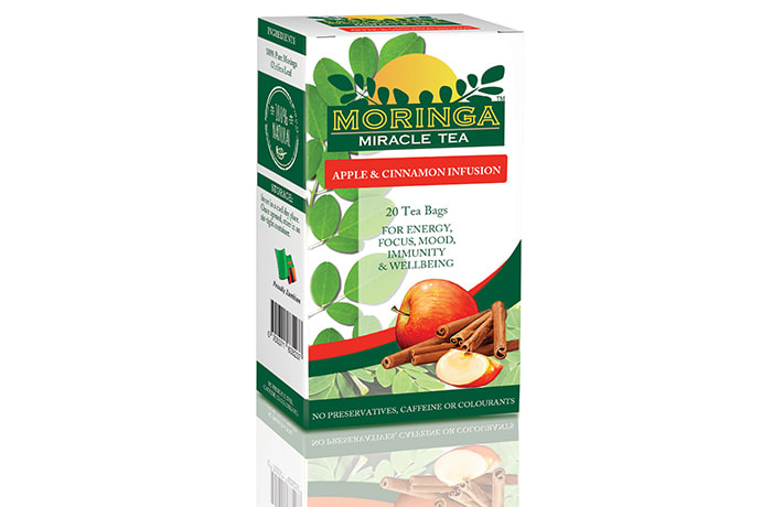 Moringa Miracle Tea – Apple and Cinnamon Infusion image