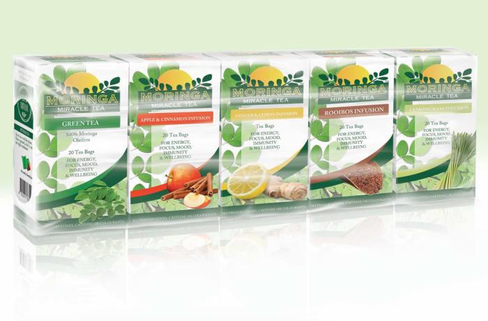 Moringa Miracle Tea pack – Variety pack image