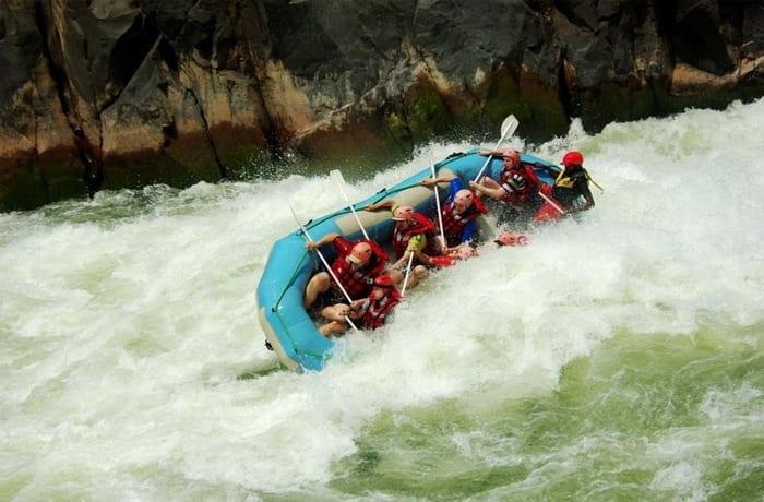 White water rafting - 1