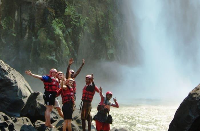 Swimming Under the Victoria Falls - 0