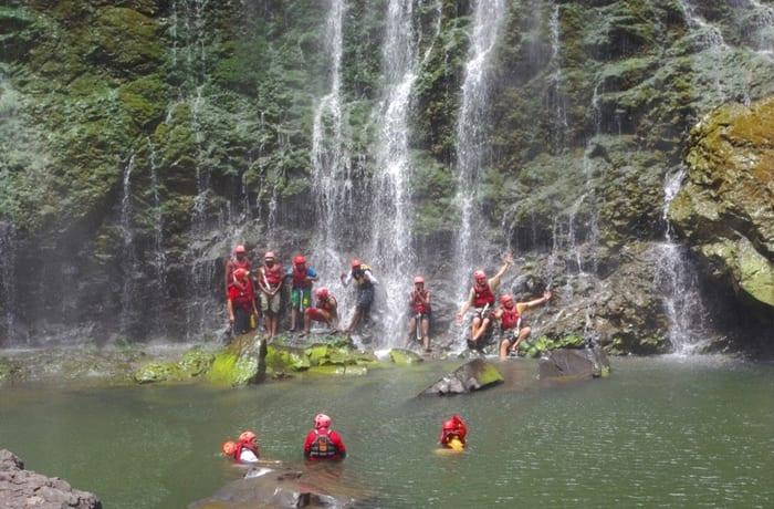Swimming Under the Victoria Falls - 1
