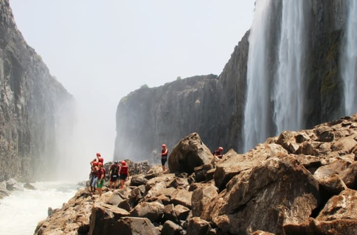 Swimming Under the Victoria Falls - 2
