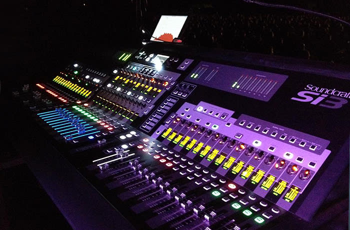 Sound, lighting, visual and stage management - 1