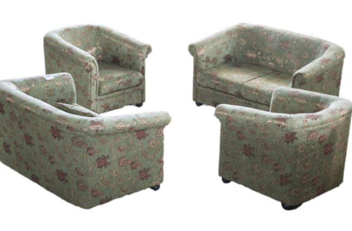 Princess Sofas - 1 x single seater, 1 x double seater and 1 x triple seater image