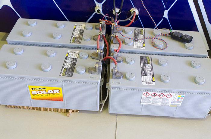Solar system installation - 1