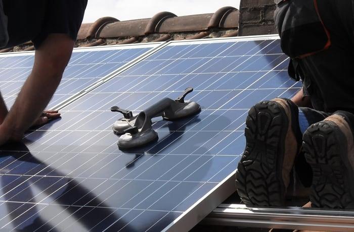 Solar system installation - 2