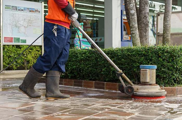 Contractual commercial, industrial and residential cleaning image