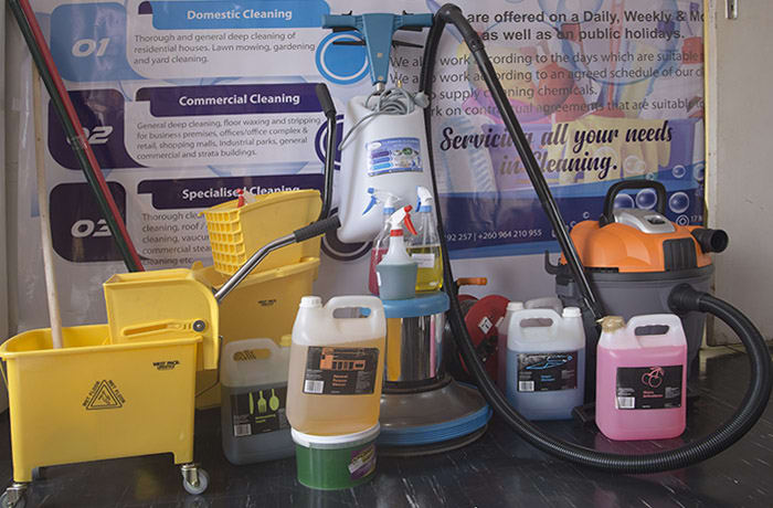 Specialised cleaning - 1