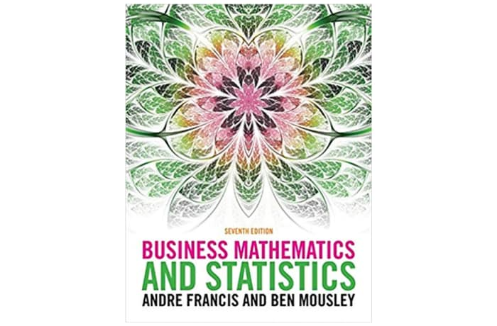 Business Mathematics and Statistics 7th Edition image